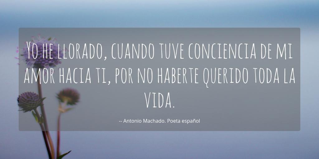 Poema De Amor De Antonio Machado